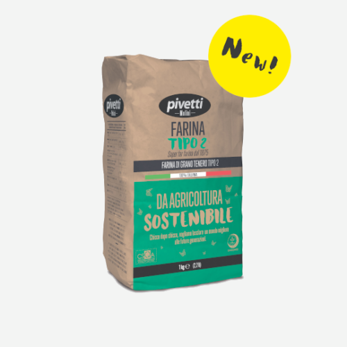 """Type """"2"""" flour from sustainable farming"""